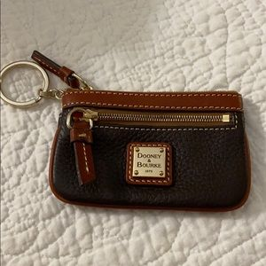 Dooney & Bourke 1975 key & card wallet.